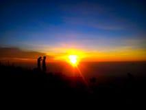 Lever de soleil Photo libre de droits