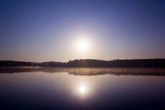 Lever de soleil. Images stock