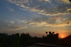 Lever de soleil Image stock