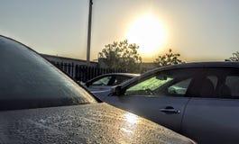 Lever de soleil Photo stock