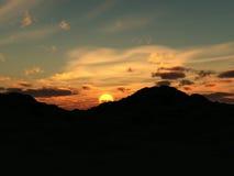 Lever de soleil 8 Images stock