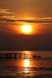 lever de soleil Photos stock