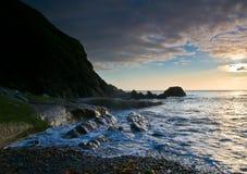 Lever de soleil atlantique Photo libre de droits