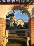 Lever de soleil attrapé chez Oslob Cebu photos libres de droits