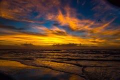 Lever de soleil au-dessus d'Amelia Images stock