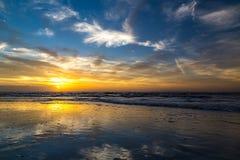 Lever de soleil au-dessus d'Amelia Images libres de droits