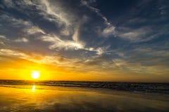 Lever de soleil au-dessus d'Amelia Photo libre de droits