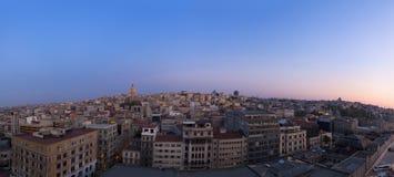 Lever de soleil au-dessus d'Istanbul Photos libres de droits