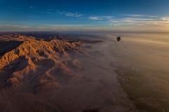 Lever de soleil au-dessus de l'Egypte photos stock