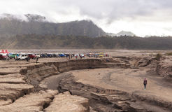 Lever de soleil au volcan de Bromo Photographie stock libre de droits