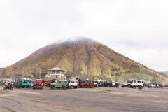 Lever de soleil au volcan de Bromo Image stock