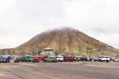 Lever de soleil au volcan de Bromo Photo libre de droits