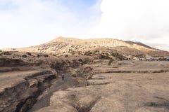 Lever de soleil au volcan de Bromo Photo stock
