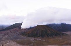Lever de soleil au volcan de Bromo Images libres de droits