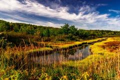Lever de soleil Castine Maine Images libres de droits