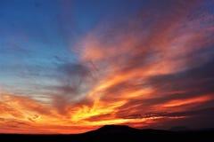 Lever de soleil central de l'Orégon Photos libres de droits