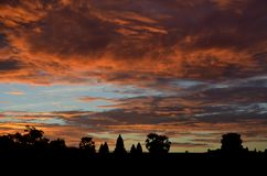 Lever de soleil chez Angkor Vat photos stock