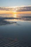 Lever de soleil chez Bahia Honda, clés de la Floride image stock