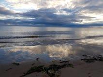 Lever de soleil chez Lossiemouth Photographie stock libre de droits
