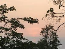 Lever de soleil chez Phu Rua, Loei, Thaïlande image stock