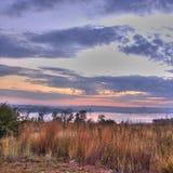 Lever de soleil chez Rietvlei Photo stock