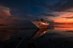 lever de soleil chez Tanjung Bira Bulukumba Photos libres de droits