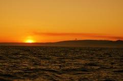 Lever de soleil coloré photographie stock libre de droits