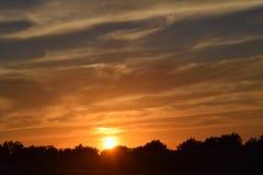 Lever de soleil/coucher du soleil Photo stock