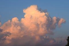 Lever de soleil/coucher du soleil Image libre de droits