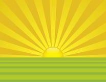 Lever de soleil d'été Photos stock