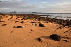 Lever de soleil d'île de phi de phi Images stock