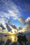 Lever de soleil d'île de Phiphi photos libres de droits