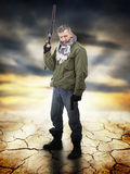 Lever de soleil d'Apocaliptic images libres de droits