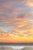 Lever de soleil d'automne photo stock