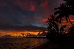 Lever de soleil d'Hawaï Image libre de droits