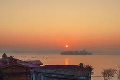 Lever de soleil d'Istanbul Photo stock