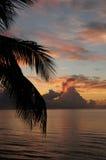 Lever de soleil d'océan Photo libre de droits
