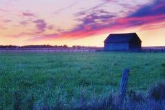 Lever de soleil d'Ontario Photo stock