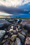 Lever de soleil d'Ottenby Image libre de droits