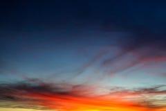 Lever de soleil dans l'Australie Photo stock