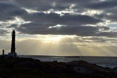 Lever de soleil dans le cabo Photos libres de droits
