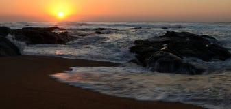 Lever de soleil dans le hemesphere du sud photos libres de droits