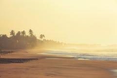 Lever de soleil dans le paradis Images stock