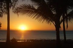 Lever de soleil dans le paradis Photographie stock