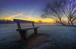 Lever de soleil dans le park8 images stock