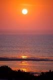 Lever de soleil dans Provincetown Images stock