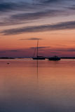 Lever de soleil dans Sardegna Image stock