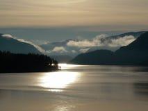 lever de soleil de 2 Norvégiens Photos libres de droits