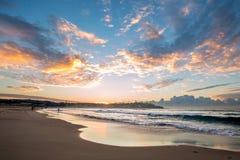 Lever de soleil de Bondi Photographie stock libre de droits