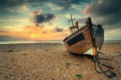 Lever de soleil de bord de la mer Image stock